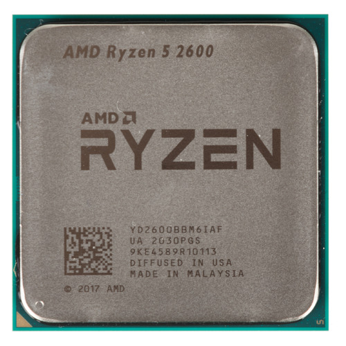Процессор AMD Ryzen 5 2600, SocketAM4 OEM [yd2600bbm6iaf]  - купить со скидкой