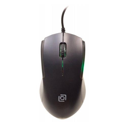 лучшая цена Мышь OKLICK 245M EU, оптическая, проводная, USB, черный