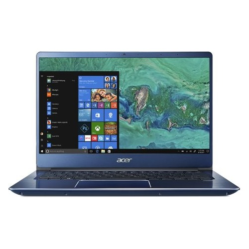 "Ультрабук ACER Swift 3 SF314-54G-85WH, 14"", IPS, Intel Core i7 8550U 1.8ГГц, 8Гб, 256Гб SSD, nVidia GeForce Mx150 - 2048 Мб, Linux, NX.GYJER.006, синий цена и фото"