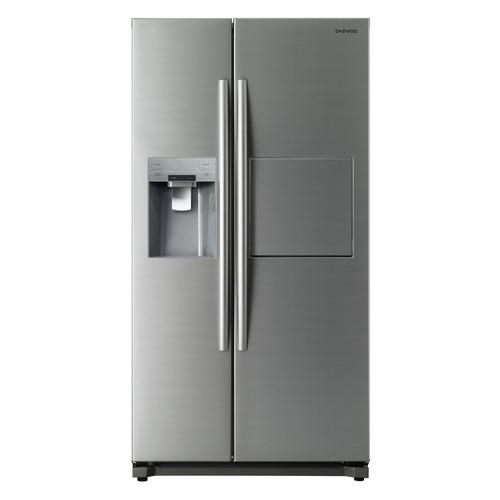 Холодильник DAEWOO FRN-X22F5CS, двухкамерный, серебристый цены