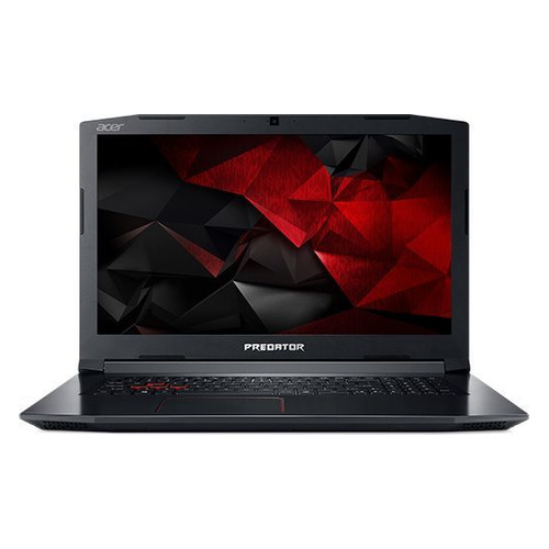 Ноутбук ACER Helios 300 PH317-52-776S, 17.3, IPS, Intel Core i7 8750H 2.2ГГц, 8Гб, 1000Гб, nVidia GeForce GTX 1060 - 6144 Мб, Linux, NH.Q3DER.005, черный