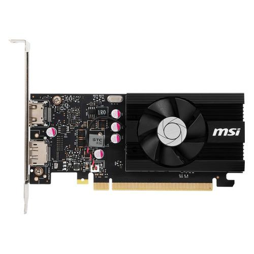 Видеокарта MSI nVidia GeForce GT 1030 , GT 1030 2GD4 LP OC, 2ГБ, DDR4, Low Profile, OC, Ret