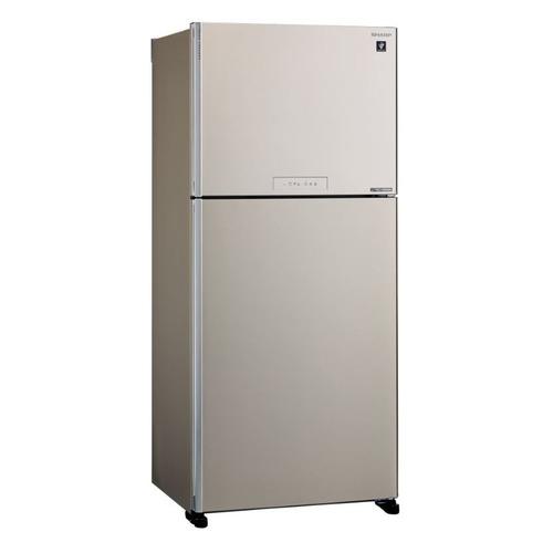 Холодильник SHARP SJ-XG55PMBE, двухкамерный, бежевый все цены