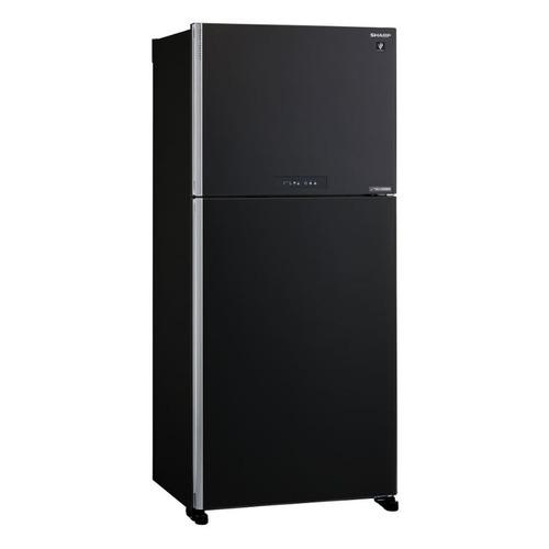 Холодильник SHARP SJ-XG55PMBK, двухкамерный, черный все цены