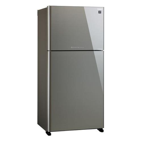 Холодильник SHARP SJ-XG60PGSL, двухкамерный, серебристое стекло все цены