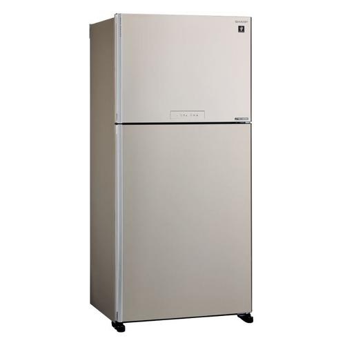 Холодильник SHARP SJ-XG60PMBE, двухкамерный, бежевый все цены