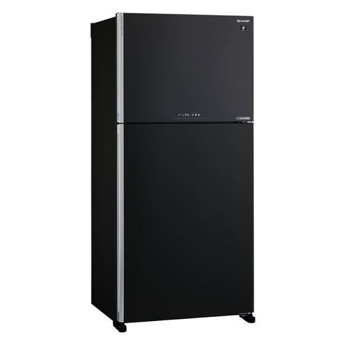Холодильник SHARP SJ-XG60PMBK, двухкамерный, черный все цены
