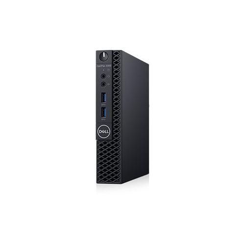 цены Компьютер DELL Optiplex 3060, Intel Core i3 8100T, DDR4 4Гб, 500Гб, Intel UHD Graphics 630, Linux Ubuntu, черный [3060-7557]