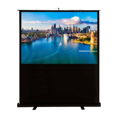 Фото - Экран CACTUS FloorCompactExpert CS-PSFLCE-160X120, 160х120 см, 4:3, напольный экран cactus floorexpert cs psfle 120x90 120х90 см 4 3 напольный