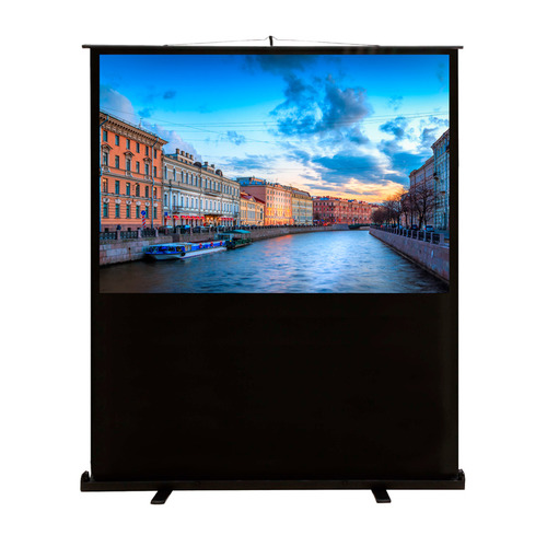Фото - Экран CACTUS FloorCompactExpert CS-PSFLCE-160X90, 160х90 см, 16:9, напольный cactus cs psflce 120x90