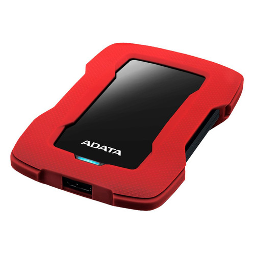 Фото - Внешний жесткий диск A-DATA DashDrive Durable HD330, 1ТБ, красный [ahd330-1tu31-crd] внешний жесткий диск adata hd330 ahd330 5tu31 cbk 5tb