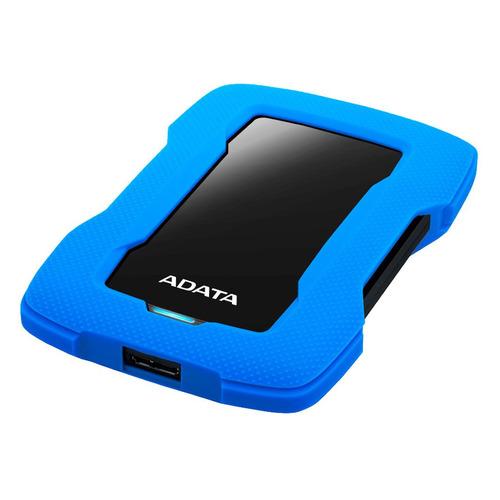 Фото - Внешний жесткий диск A-DATA DashDrive Durable HD330, 2ТБ, синий [ahd330-2tu31-cbl] внешний жесткий диск adata hd330 ahd330 5tu31 cbk 5tb