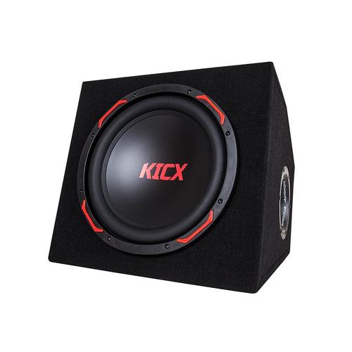 Сабвуфер автомобильный KICX GT301BA, активный, 900Вт [2013752] сабвуфер автомобильный kicx gt500bpa 500вт активный 30см 12