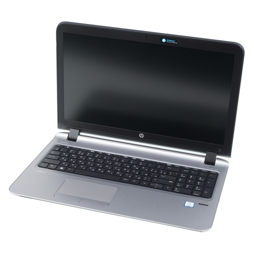 Ноутбук HP ProBook 450 G3, 15.6, Intel Core i7 6500U 2.5ГГц, 8Гб, 256Гб SSD, Intel HD Graphics 520, DVD-RW, Windows 10 Professional, 3QM31ES, черный ноутбук hp probook 450 g3 core i5 6200u 4gb ssd256gb dvd rw intel hd graphics 520 15 6 sva fhd 1366x768 windows 7 profession