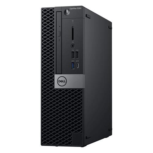 Компьютер DELL Optiplex 5060, Intel Core i5 8500, DDR4 8Гб, 1000Гб, Intel UHD Graphics 630, DVD-RW, Windows 10 Professional, черный [5060-7649] цены онлайн