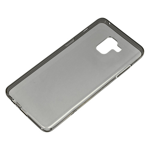 Чехол (клип-кейс) REDLINE iBox Crystal, для Samsung Galaxy A8+, серый [ут000014037] чехол клип кейс redline ibox crystal для samsung galaxy j1 mini prime 2017 j106f серый [ут000010391]