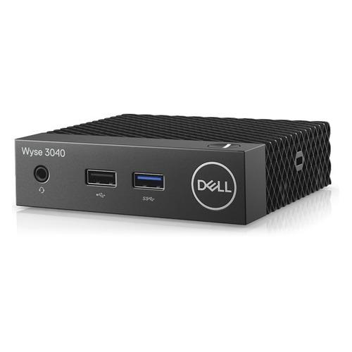 купить Тонкий клиент DELL WYSE Thin 3040 3Y PS WiFi, Intel Atom x5-Z8350, DDR3L 2Гб, 8Гб(SSD), Intel HD Graphics 400, ThinOs, черный [210-alek] по цене 21660 рублей