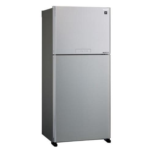 Холодильник SHARP SJ-XG55PMSL, двухкамерный, серебристый цена и фото