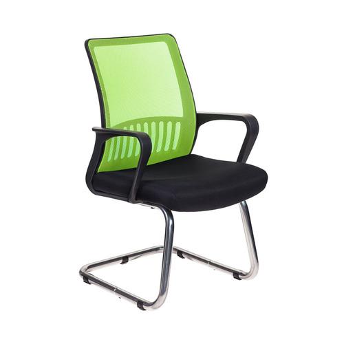 Кресло БЮРОКРАТ MC-209, на полозьях, сетка/ткань, салатовый/черный [mc-209/sd/tw-11] недорого