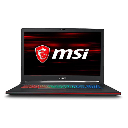 Ноутбук MSI GP73 8RE(Leopard)-469RU, 17.3, Intel Core i7 8750H 2.2ГГц, 16Гб, 1000Гб, 256Гб SSD, nVidia GeForce GTX 1060 - 6144 Мб, Windows 10, 9S7-17C522-469, черный ноутбук msi gp73 leopard 8re 469ru 9s7 17c522 469