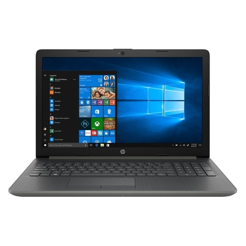 Ноутбук HP 15-da0110ur, 15.6, Intel Core i5 8250U 1.6ГГц, 4Гб, 16Гб Intel Optane, 1000Гб, Intel UHD Graphics 620, Windows 10, 4KD14EA, серый ультрабук hp elitebook 840 g5 3jx01ea intel core i5 8250u 1600 mhz 14 1920x1080 8gb 256gb ssd dvd нет intel uhd graphics 620 wi fi bluetooth windows 10 pro