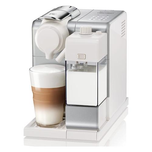 Капсульная кофеварка DELONGHI Nespresso Latissima Touch EN560, 1300Вт, цвет: серебристый [0132193309] капсульная кофеварка delonghi nespresso en550b 1400вт цвет черный [132193182]