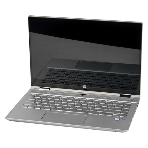 Ноутбук-трансформер HP Pavilion x360 14-cd0017ur, 14, IPS, Intel Core i5 8250U 1.6ГГц, 8Гб, 256Гб SSD, Intel UHD Graphics 620, Windows 10, 4HA89EA, золотистый ноутбук трансформер hp probook x360 440 g1 14 intel core i5 8250u 1 6ггц 8гб 256гб ssd intel uhd graphics 620 windows 10 professional 4ls89ea серебристый