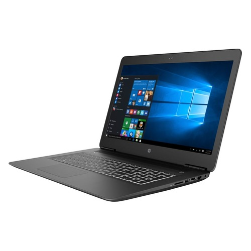 Ноутбук HP 17-ab407ur, 17.3, Intel Core i7 8750H 2.2ГГц, 16Гб, 1000Гб, 256Гб SSD, nVidia GeForce GTX 1050 Ti - 4096 Мб, DVD-RW, Windows 10, 4GT40EA, черный ноутбук asus rog gl553ve fy200t 15 6 intel core i7 7700hq 2 8ггц 12гб 1000гб 256гб ssd nvidia geforce gtx 1050 ti 4096 мб dvd rw windows 10 90nb0dx3 m02800 черный