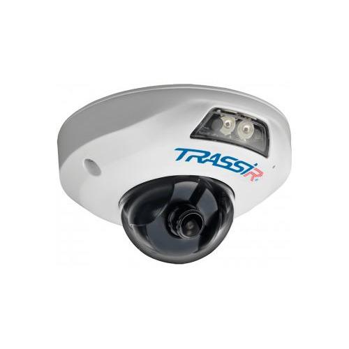 Фото - Видеокамера IP TRASSIR TR-D4121IR1, 1080p, 2.8 мм, белый видеокамера ip trassir tr d2121ir3 1080p 2 8 мм белый