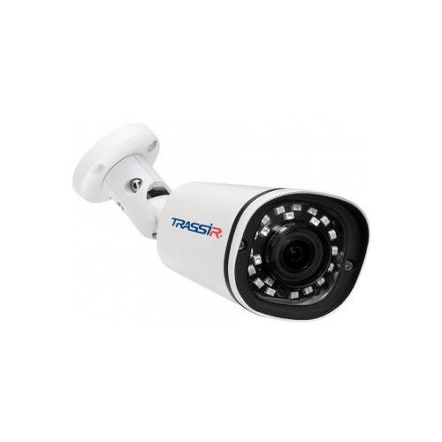 Фото - Видеокамера IP TRASSIR TR-D2121IR3, 1080p, 3.6 мм, белый видеокамера ip trassir tr d2121ir3 1080p 2 8 мм белый