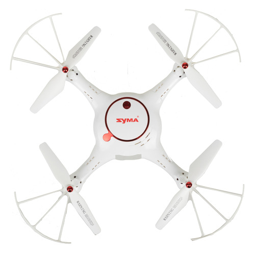 Квадрокоптер SYMA X5UW-D с камерой, белый [x5uw-d white] original syma x5uw x5uc rc drone with wifi camera hd real time transmission fpv quadcopter 2 4g 4ch helicopter dron quadrocopter