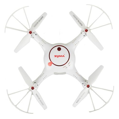 Квадрокоптер SYMA X5UW-D с камерой, белый [x5uw-d white] квадрокоптер syma x5uw d
