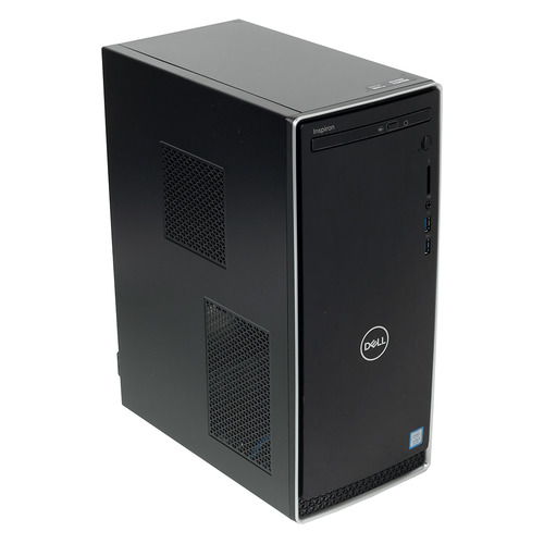 Компьютер DELL Inspiron 3670, Intel Core i5 8400, DDR4 8Гб, 1000Гб, NVIDIA GeForce GTX 1050 - 2048 Мб, DVD-RW, Windows 10 Home, черный [3670-6597] моноблок msi pro 24 6nc 024ru intel core i5 6400 8гб 1000гб nvidia geforce gt930mx 2048 мб dvd rw windows 10 home черный [9s6 ae9311 024]