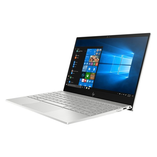 Ноутбук HP Envy 13-ah0014ur, 13.3, IPS, Intel Core i7 8550U 1.8ГГц, 16Гб, 256Гб SSD, nVidia GeForce Mx150 - 2048 Мб, Windows 10, 4GV36EA, серебристый ноутбук hp 14 ce0032ur 14 ips intel core i7 8550u 1 8ггц 16гб 1000гб 256гб ssd nvidia geforce mx150 4096 мб windows 10 4he86ea розовое золото