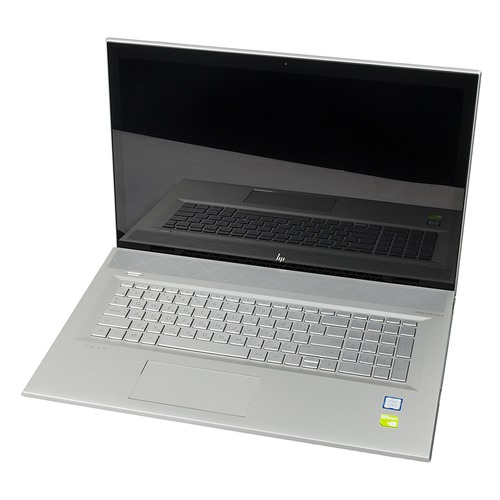 Ноутбук HP Envy 17-bw0003ur, 17.3, IPS, Intel Core i7 8550U 1.8ГГц, 12Гб, 1000Гб, 128Гб SSD, nVidia GeForce Mx150 - 4096 Мб, DVD-RW, Windows 10, 4GR89EA, серебристый ноутбук hp 14 ce0032ur 14 ips intel core i7 8550u 1 8ггц 16гб 1000гб 256гб ssd nvidia geforce mx150 4096 мб windows 10 4he86ea розовое золото