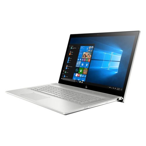 Ноутбук HP Envy 17-bw0005ur, 17.3, IPS, Intel Core i7 8550U 1.8ГГц, 16Гб, 512Гб SSD, nVidia GeForce Mx150 - 4096 Мб, DVD-RW, Windows 10, 4GW03EA, серебристый ноутбук hp 14 ce0032ur 14 ips intel core i7 8550u 1 8ггц 16гб 1000гб 256гб ssd nvidia geforce mx150 4096 мб windows 10 4he86ea розовое золото