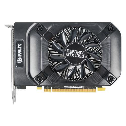 купить Видеокарта PALIT nVidia GeForce GTX 1050 , PA-GTX1050 StormX 2G, 2Гб, GDDR5, Bulk [ne5105001841-1070f bulk] онлайн