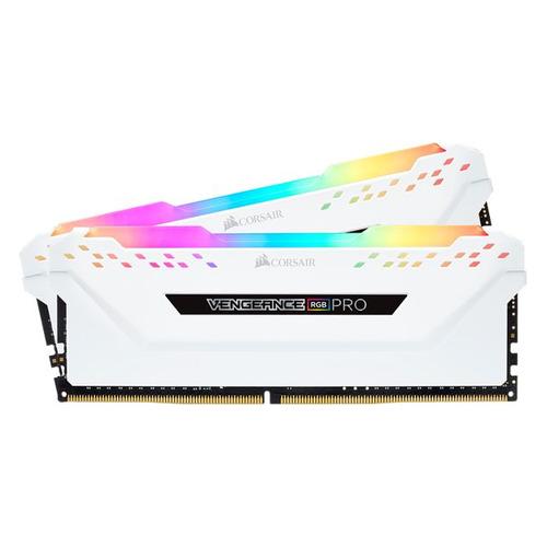 Модуль памяти CORSAIR Vengeance RGB Pro CMW16GX4M2C3000C15W DDR4 - 2x 8ГБ 3000, DIMM, Ret  - купить со скидкой