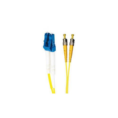 лучшая цена Патч-корд Brand-Rex (HOPLC008050ST203) 2x9/125 OS1/OS2 LC дуплекс-ST дуплекс 5м LSZH