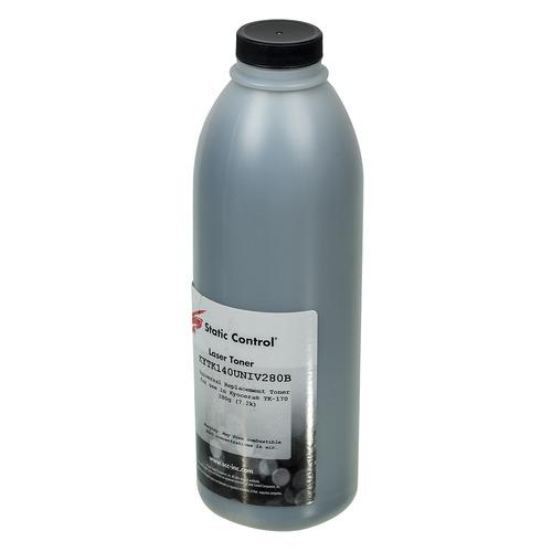 Тонер STATIC CONTROL KYTK140UNIV280B, для Kyocera FS1030/1100/1120/1300, черный, 280грамм, флакон KYTK140UNIV280B по цене 590