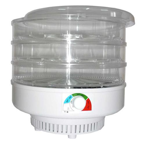 Сушилка для овощей и фруктов СПЕКТР-ПРИБОР СО Ветерок-3г, прозрачный, 3 поддона