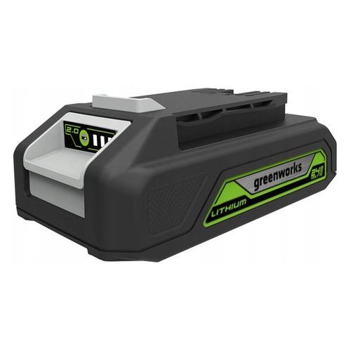 цены Батарея аккумуляторная Greenworks G24B2 24В 2Ач Li-Ion (2902707)