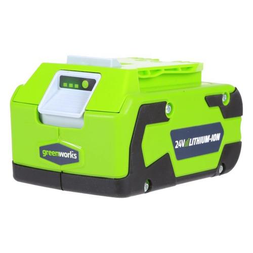 Батарея аккумуляторная Greenworks G24B4 24В 4Ач Li-Ion (2902807) стоимость