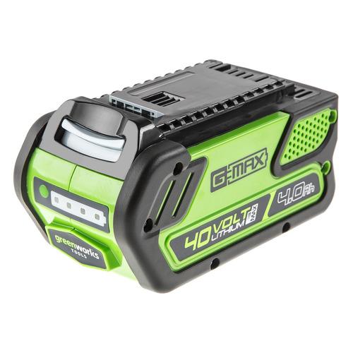 Батарея аккумуляторная Greenworks G40B4 40В 4Ач Li-Ion (29727) цена