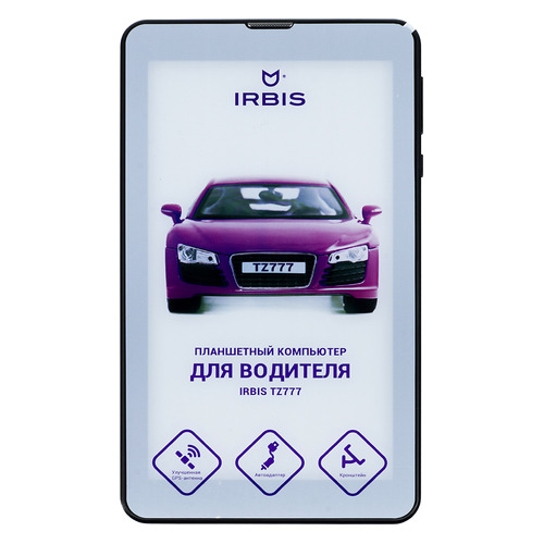 Планшет IRBIS TZ777, 1GB, 8GB, 3G, Android 7.0 черный планшет ginzzu gt 1045 white spreadtrum sc7731g 1 3 ghz 1024mb 8gb gps 3g wi fi bluetooth cam 10 1 1280x800 android