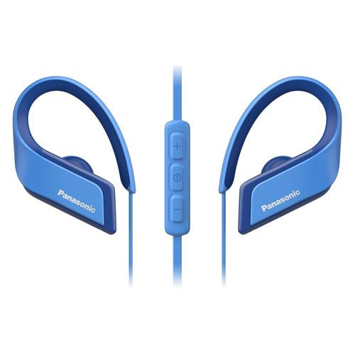 Наушники с микрофоном PANASONIC RP-BTS35GC, Bluetooth, вкладыши, синий [rp-bts35gc-a] наушники с микрофоном panasonic rp bts35gc bluetooth вкладыши синий