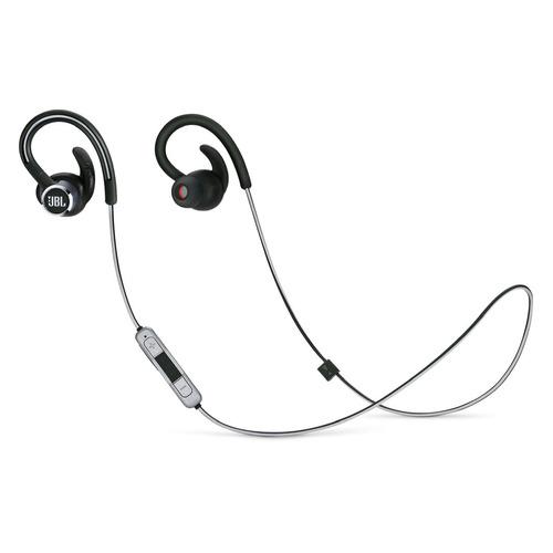 Фото - Наушники с микрофоном JBL Reflect Contour 2, Bluetooth, вкладыши, черный [jblrefcontour2blk] bt наушники гарнитура вкладыши jbl reflect mini2 бирюзовый jblrefmini2tel