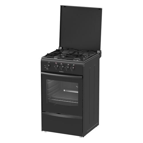 лучшая цена Газовая плита DARINA 1A GM 441 002 At, газовая духовка, эмалированная крышка, антрацит [000057892]
