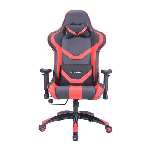 Кресло игровое БЮРОКРАТ CH-772N, на колесиках, искусственная кожа, черный/красный [ch-772n/bl+red] кресло игровое бюрократ ch 776 на колесиках искусственная кожа [ch 776 bl r]