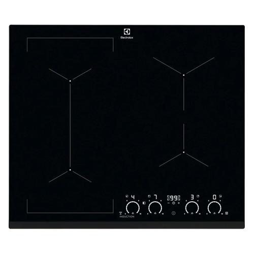 Индукционная варочная панель ELECTROLUX IPE6463KI, индукционная, независимая, черный цена и фото